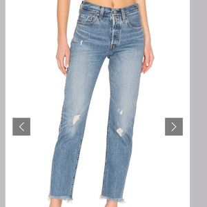 Levi's 501 Straight Leg Jeans Size 30